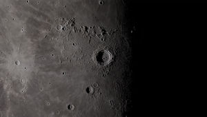 Sunset on the Moon's crater Copernicus. Credit: NASA/Goddard Space Flight Center's Scientific Visualization Studio