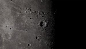 Sunset on the Moon's crater Copernicus. Credit: NASA/Goddard Space Flight Center's Scientific Visualization Studio