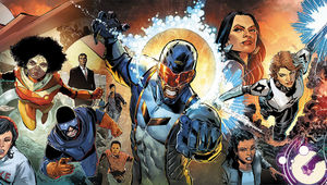 A Catalyst Prime Universe connecting variant by Phil Jimenez