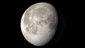 The Moon's appearance on June 21, 2019 (the June solstice), as calculated using NASA's Dial-A-Moon. Credit: NASA's Scientific Visualization Studio