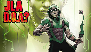 Green Arrow Annual 2 Hero