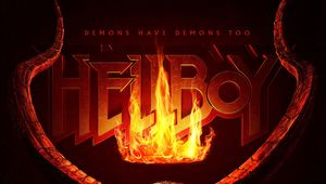Hellboy reboot movie poster David Harbour