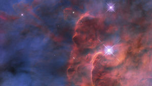 The central region of the Lagoon Nebula, a star-forming factory about 4,000 light years from Earth. Credit: NASA, ESA, STScI