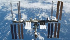 NASA image of the International Space Station