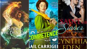 July SFF romance hero