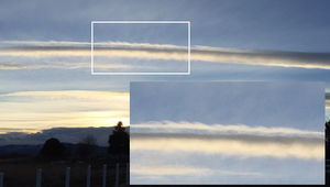 Differing wind speeds between layers of air can cause Kelvin-Helmholtz waves in the clouds. Credit: Phil Plait