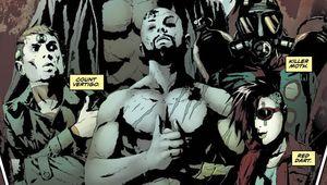 The Longbow Hunters DC Comics Panel