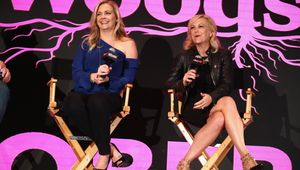 new york comic con, the watcher in the woods, Melissa Joan Hart, Paula Hart
