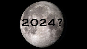Can NASA send people back to the Moon by 2024? Credit: NASA's Scientific Visualization Studio