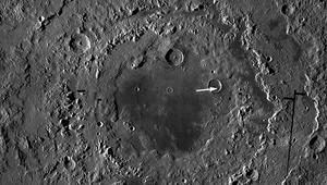 NASA image of the moon's Orientale basin