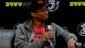 phil lamarr syfywire eccc2018 interview screengrab