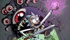 Rick and Morty Dungeons and Dragons