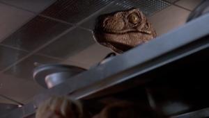 Jurassic Park raptor scene