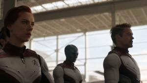 Avengers: Endgame trailer, Natasha Romanoff and Tony Stark