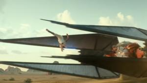 Star Wars Episode IX Rise of the Skywalker Rey leap