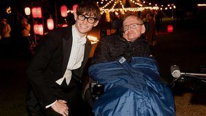 Eddie Redmayne Stephen Hawking