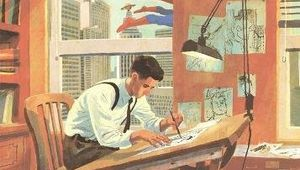 The Joe Shuster Story- Cover