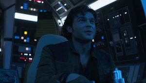 Solo trailer 2- Han in cockpit with good feeling