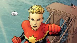 Captain Marvel, comics