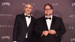 Alfonso Cuaron and Guillermo del Toro