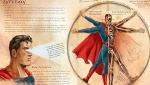 DC Comics Anatomy of a Metahuman, Superman