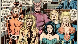Eternals, Jack Kirby