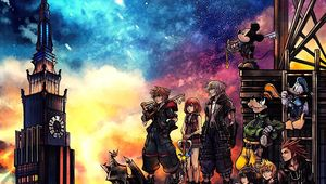 Kingdom Hearts III cover art cropped