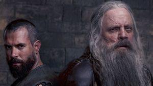 Knightfall Mark Hamill Tom Cullen Close-Up