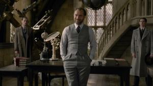 Dumbledore, Jude Law smile