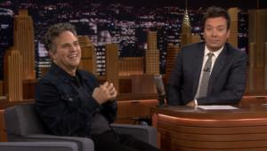 Mark Ruffalo Tonight Show