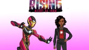 Marvel Rising Heart of Iron Ironheart design