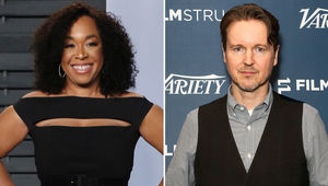 Shonda Rhimes and Matt Reeves