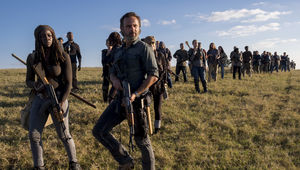 The Walking Dead episode 816 - Rick and Michonne head to battle