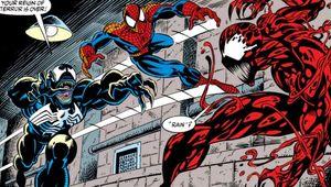 Venom Spider-Man Carnage comics hero