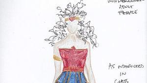 Wonder Woman Suit Up Bluprint