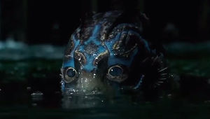 Shape of Water Fish Man Eyes