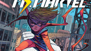 The Magnificent Ms. Marvel cover