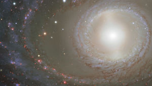 NGC 1398, a barred spiral galaxy that is, quite simply, gorgeous. Credit: ESO