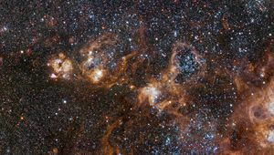 vlt_tarantula_heroThe hugely sprawling Tarantula Nebula, a vast star-forming complex in a nearby satellite galaxy of the Milky Way. Credit: ESO