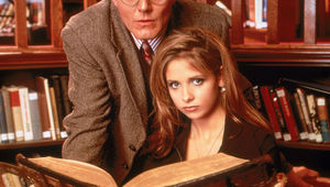 Buffy the Vampire Slayer sarah michelle gellar buffy giles.jpg
