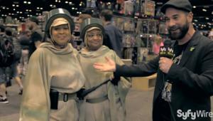 Star Wars Celebration Mother Daughter