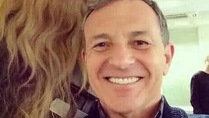 Chewbacca and Robert Iger Star Wars VII