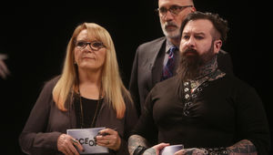 Face Off's Ve Neill and judges