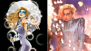 lady gaga vs dazzler