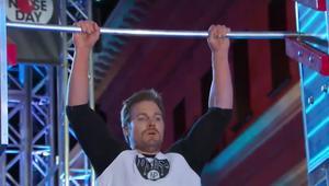 Stephen Amell American Ninja Warrior