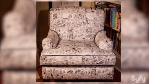 David Mandel's Steve Ditko comic chair