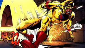 Zoom as depicted in DC comics