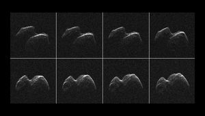 radar images of asteroid 2014 JO25