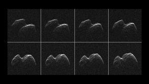 radar images of asteroid 2014 JO25