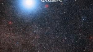 Alpha and Proxima Centauri